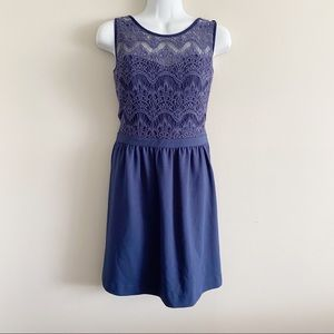 Lilly Pulitzer navy lacey Dress